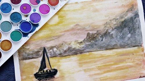 Żegluga malarstwo