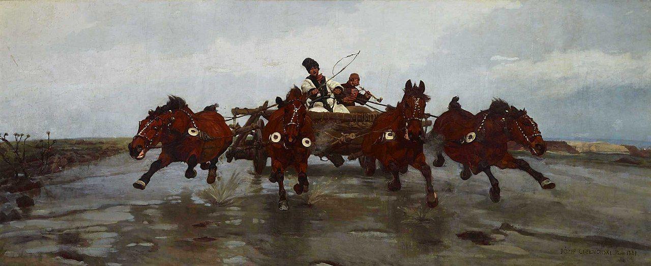 czwórka józef chełmoński 1881