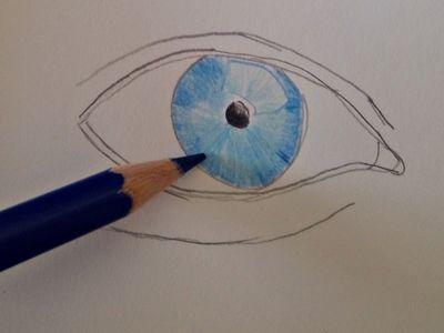 jak narysować oko