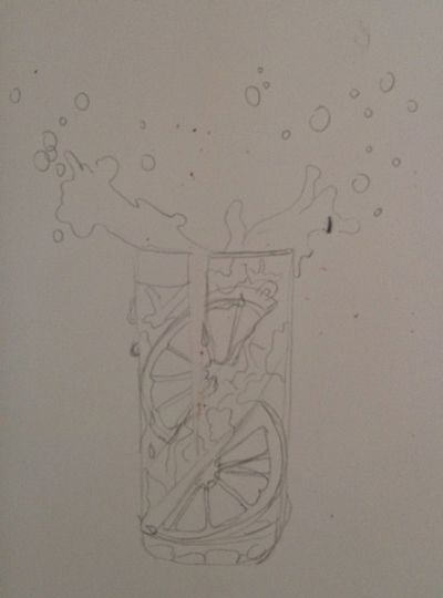 Rysunek wody