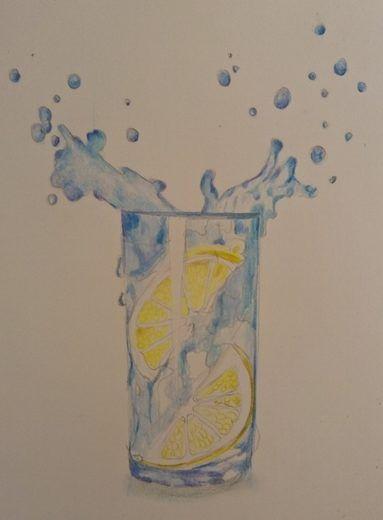 Jak narysować wodę