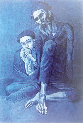 pablo picasso stary żyd z chłopcem