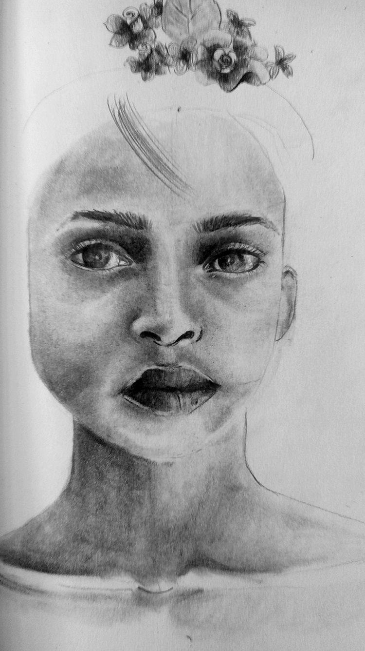 portret ołówkiem krok po kroku
