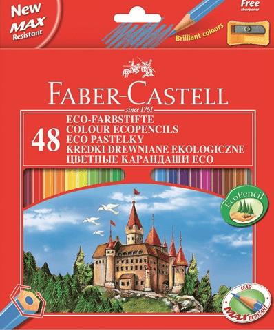 zestaw kredek faber-castell zamek