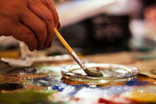 jak zacząć malować farbami