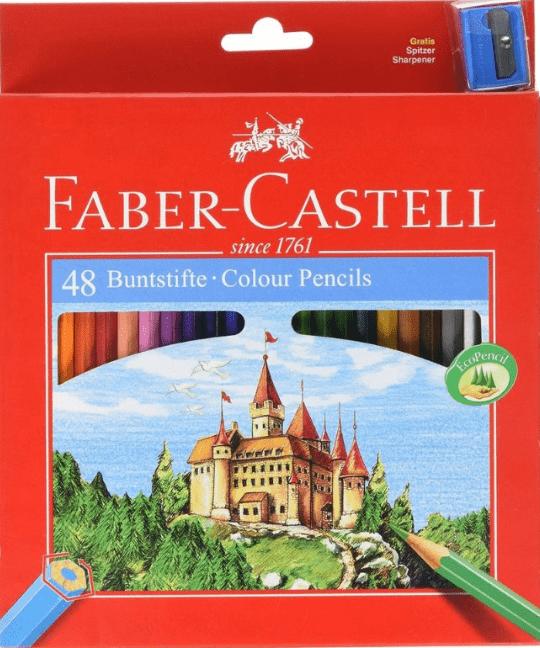 kredki faber-castell zamek zestaw 48
