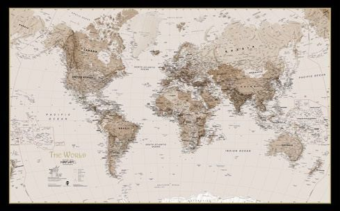 oprawa map