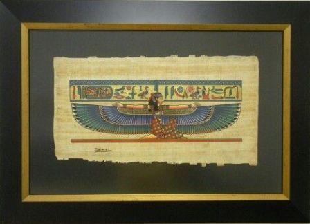 oprawa papirusa