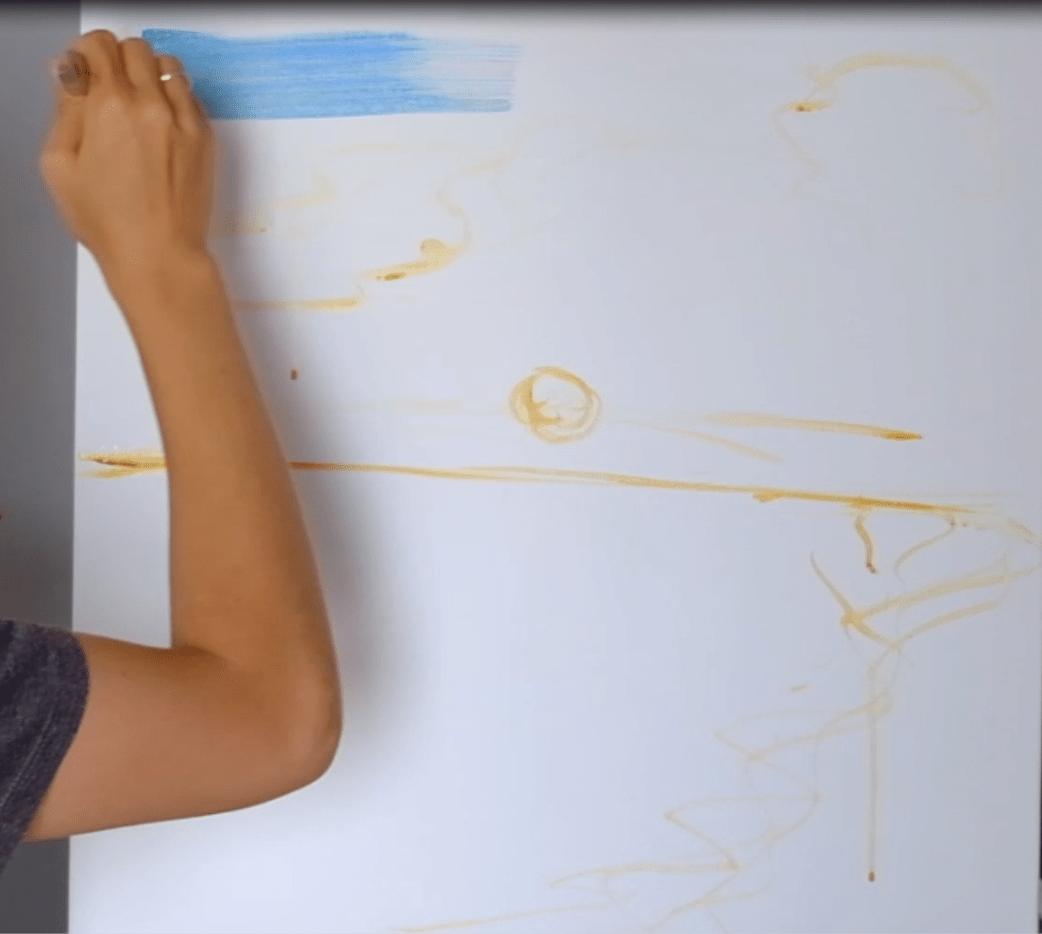 jak namalować obraz akrylami