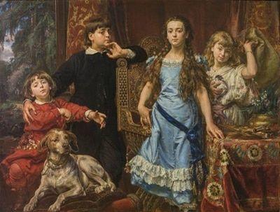 portret dzieci artysty jan matejko