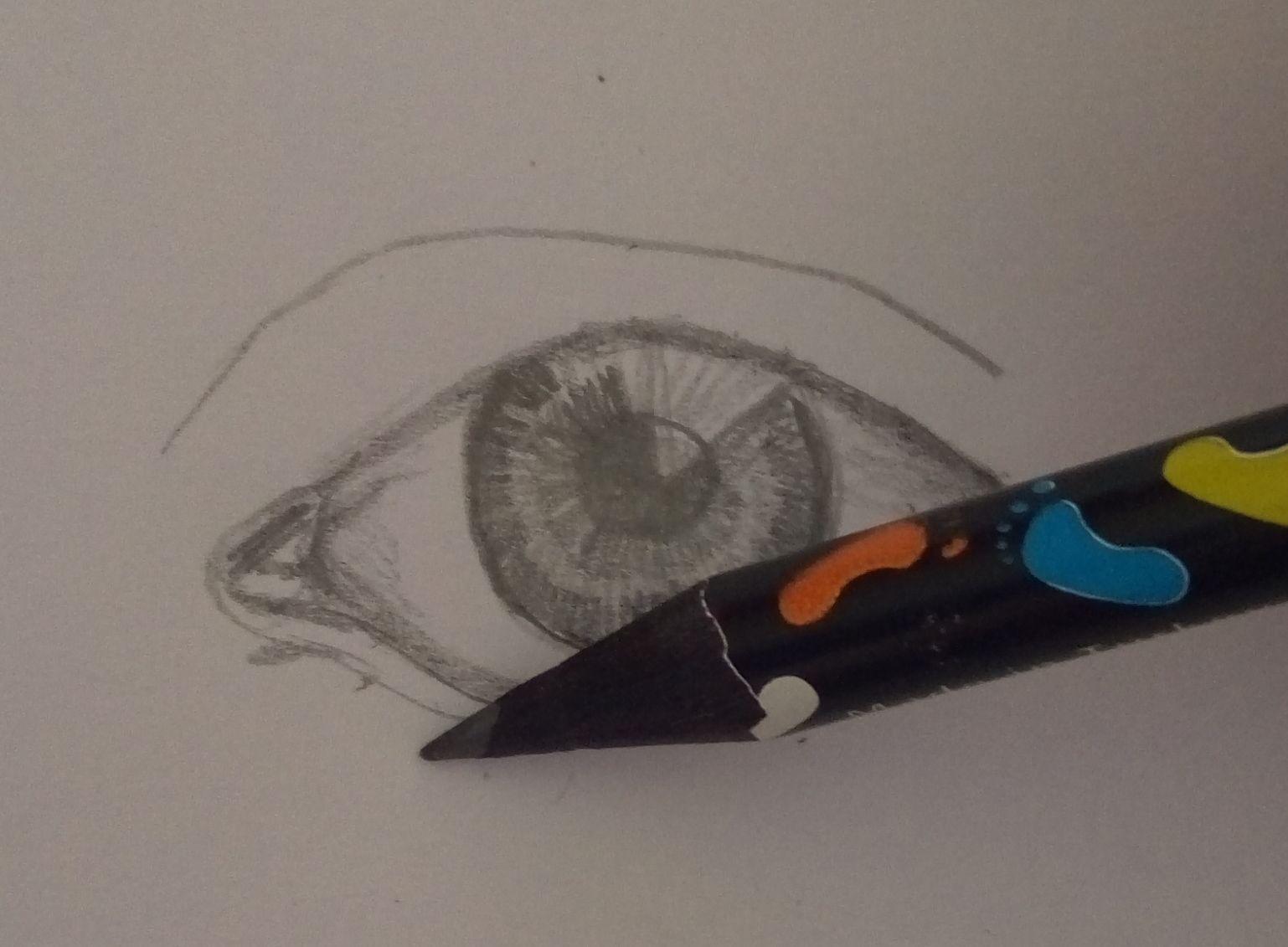 szczegóły oczu