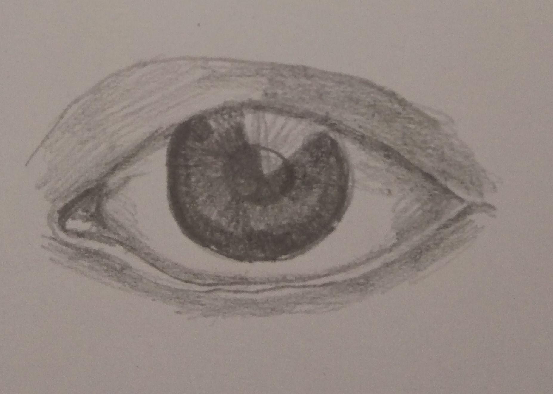 ścieranie oka