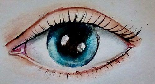 oko jak narysować